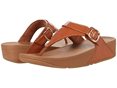 FitFlop Lulu Glitter Adjustable Toe-Post Sandals