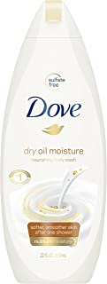 Dove Body Wash, Dry Oil Moisture, 22 oz