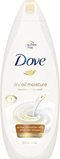 Dove Body Wash, Dry Oil Moisture, 22 Fl Oz (1 Count)