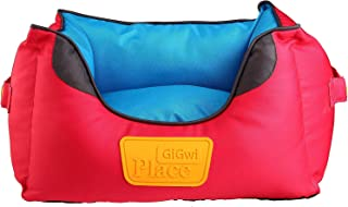 GiGwi Place Soft Bed Canvas, Red/Blue, 8323