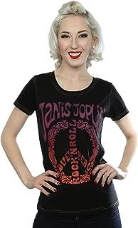 Women's Janis Joplin Love Peace T-Shirt