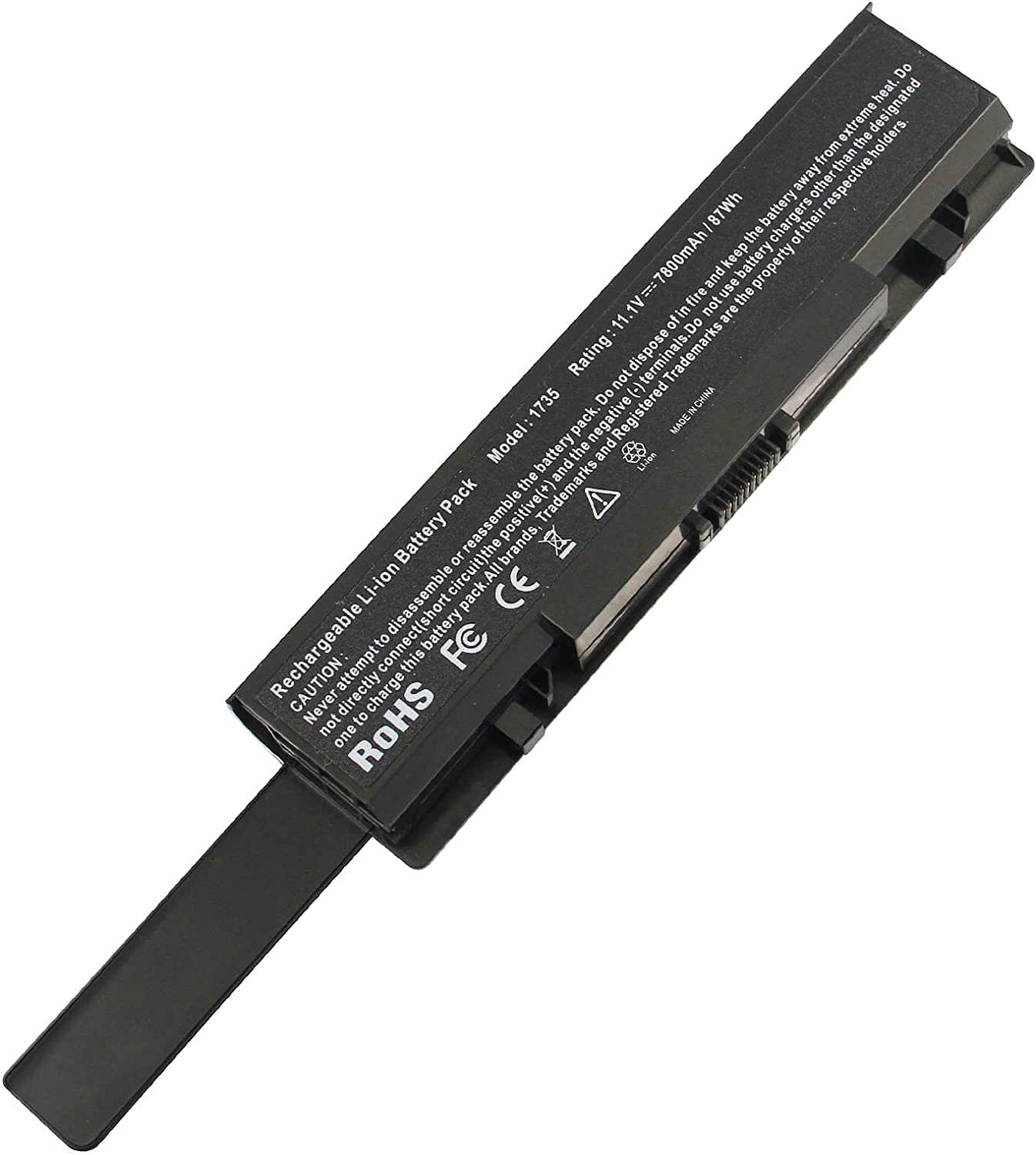 Chicago Mall AC OFFicial store Doctor INC New 9 Cell 7800mAh Dell Laptop Battery Studio for