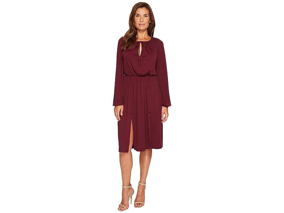Susana Monaco Kasia Dress (Port) Women