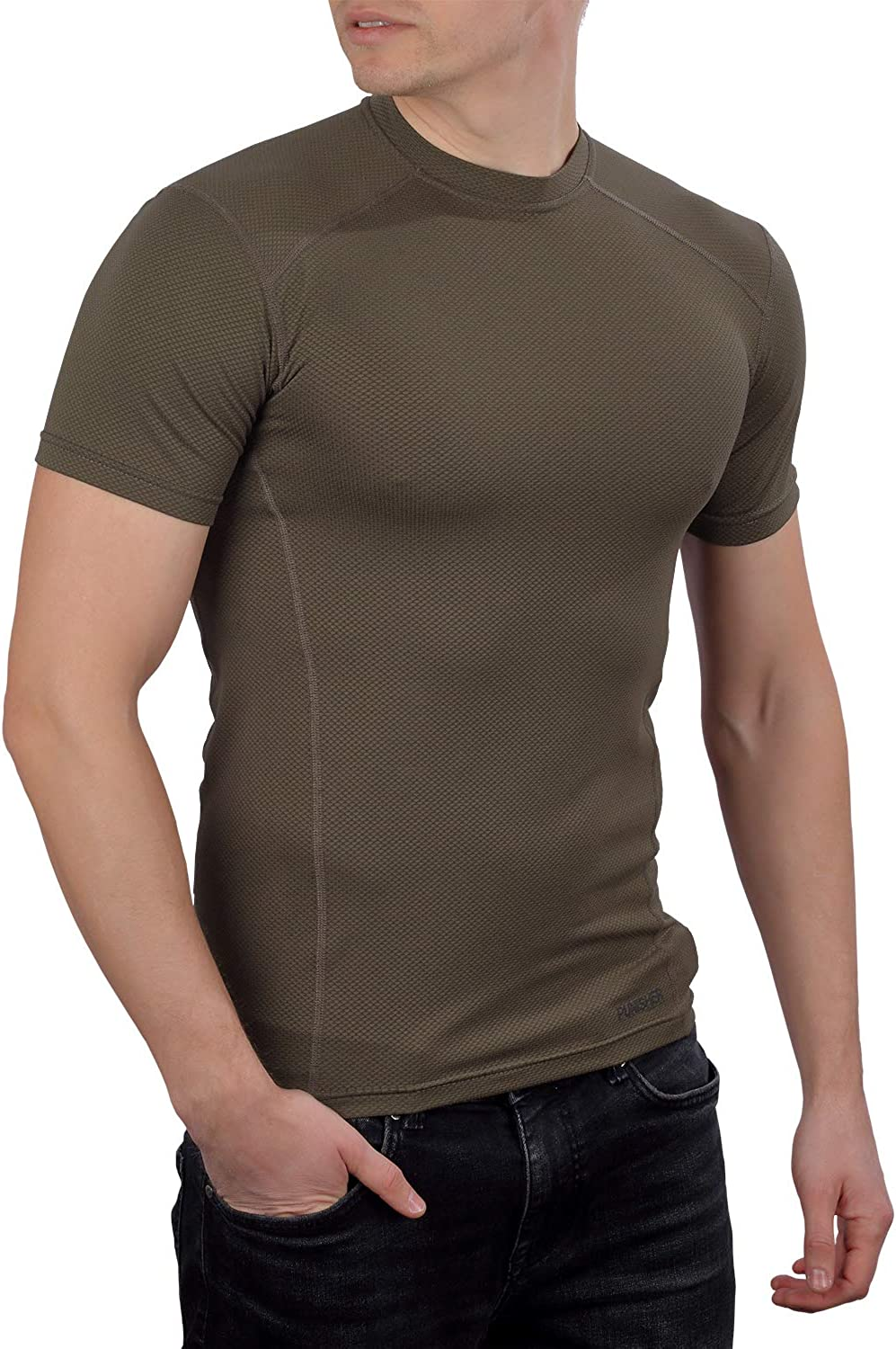 281Z Mens excellence Military Moisture Gorgeous Wicking T-Shirt Tactical Training -