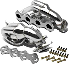 DNA Motoring HDS-FM05-46L-SHORTY Stainless Steel Exhaust Header Manifold