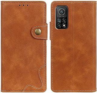 MOONCASE Mi 10T 5G/10T Pro 5G Case, Premium PU Leather Cover Wallet Pouch Flip Case Card Slots Magnetic Closure Mobile Pho...