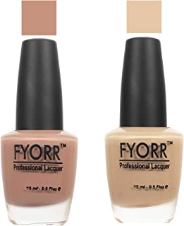 FYORR The Brown Town Collection Nail Polish - Set of 2 (15 Ml Each)