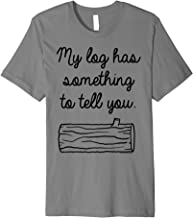 Twin Peaks My Log Has Something To Tell You Premium T-Shirt