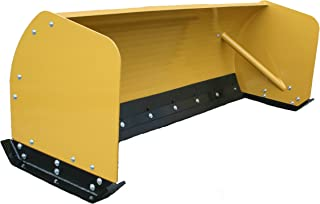 bobcat snow pusher box