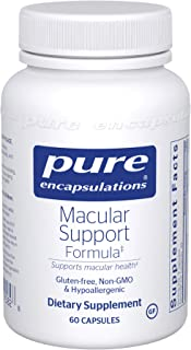 Pure Encapsulations - Macular Support Formula - Hypoallergenic Supplement with Enhanced Antioxidant Formula for Healthy Ey...