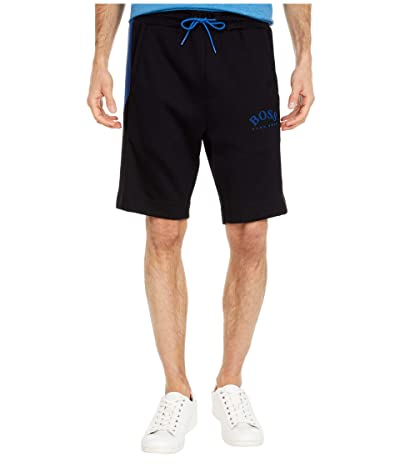 BOSS Hugo Boss Headlo Slim-Fit Jersey Shorts (Black) Men