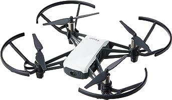 DJI Tello Drone, Distancia de Vuelo 100 m, Altura 10 m, color Blanco