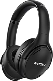 Mpow H19 IPO Active Noise Cancelling Headphones, Bluetooth 5.0 Headphones with CVC8.0 Mic, Fast Charge, 35H Playtime, Deep...