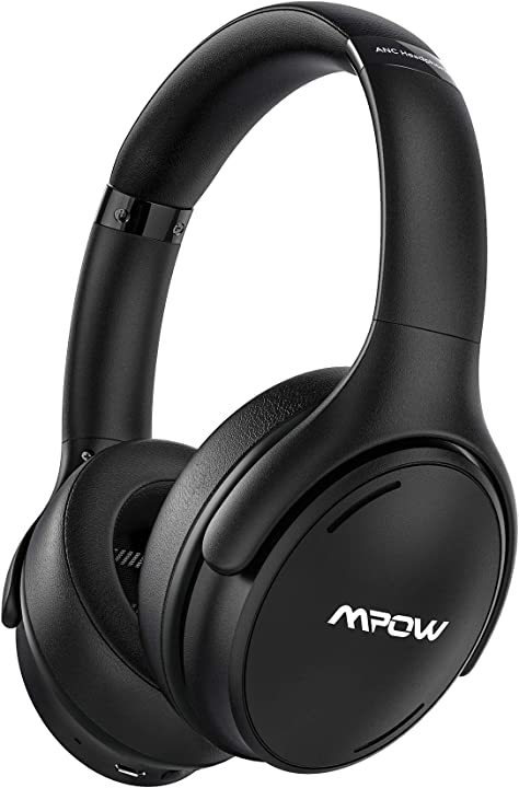 Mpow h19 ipo cuffie noise cancelling,cuffie bluetooth 5.0,cuffie over ear ricarica rapida BHMPBH388AB-ITAS1