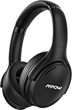 Mpow H19 IPO Active Noise Cancelling Headphones, Bluetooth 5.0 Headphones with CVC8.0 Mic, Deep Bass, Fast Charge 35H Play...