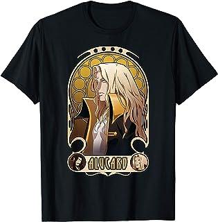 Netflix Castlevania Alucard Portrait T-Shirt