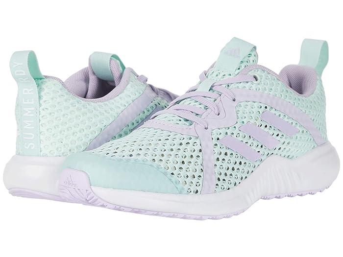 adidas Kids  Fortarun X Summer. RDY (Little Kid/Big Kid) (Dash Green/Purple Tint/White) Kids Shoes
