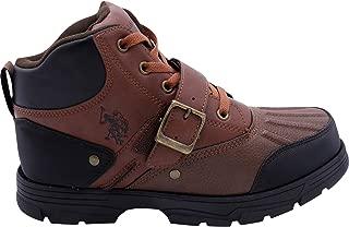 Kedge Men's Buckle Duck Toe Boots Brown Size 9