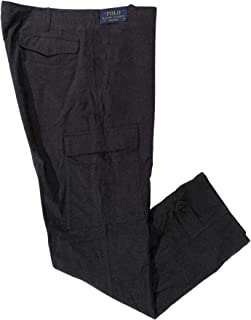 Men's Driver Grey Flannel Cargo Casual Pants Size 38/32