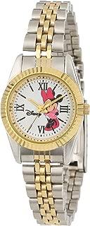 Disney Women's W000575 Minnie Mouse Two-Tone Status Watch