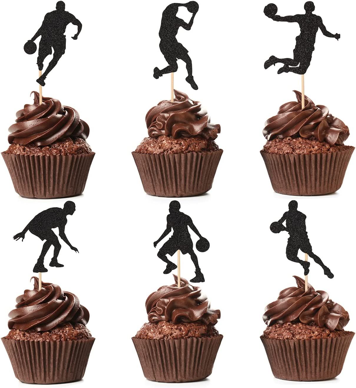 Basketball Cupcake Toppers Pack Many popular brands Luxury goods 48 Player of