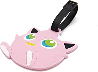 CellDesigns Pokemon Luggage Tag ID Tag with Adjustable Strap (Jigglypuff)