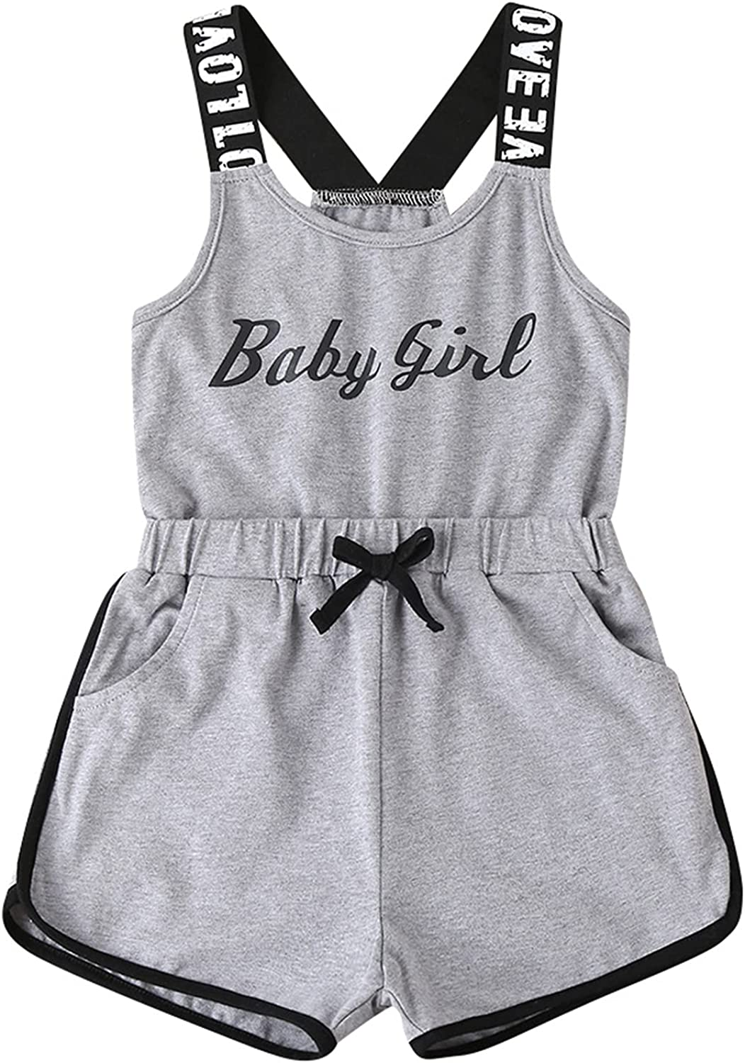 Kaerm Kids Same day shipping Big Girls Summer 2 Suit Some reservation Athletic Cro Pcs Casual Sport