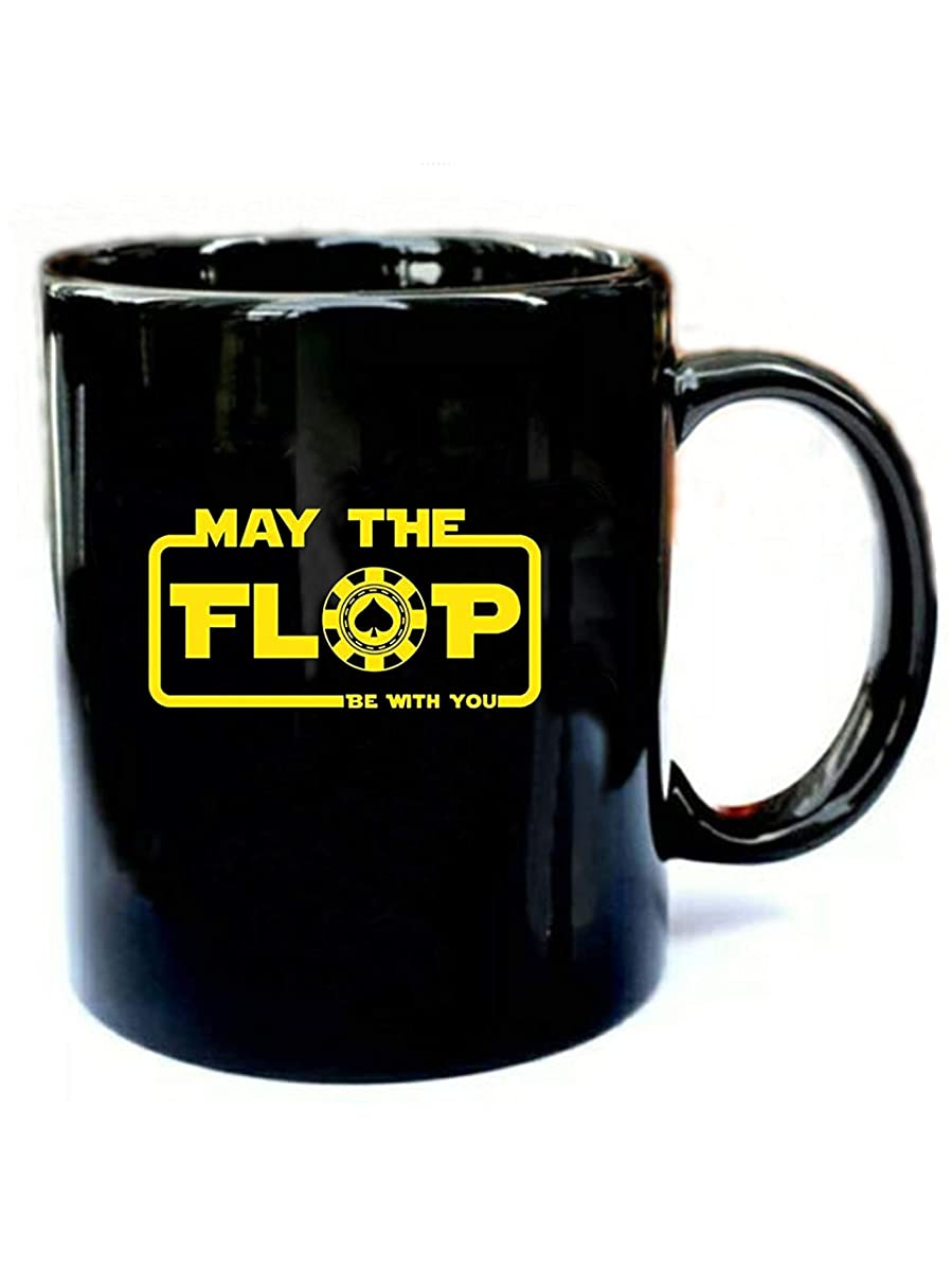 May The Flop Be With You - Funny Gift Black 11oz Ceramic Coffee Mug