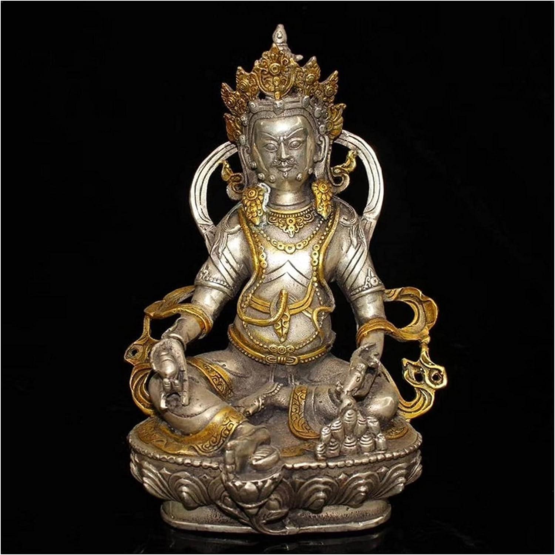 liushop Bodhisattva Avalokiteśvara Max sold out 63% OFF Figurine Bronz Brass Antique