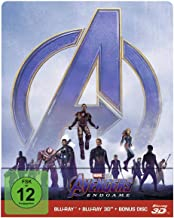 Avengers: Endgame Limited Edition Steelbook [3D Blu-ray + Blu-ray]