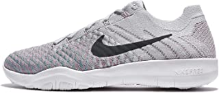 Free TR Flyknit 2 Womens Running Shoes (6 B(M) US, Pure Platinum/Anthracite)