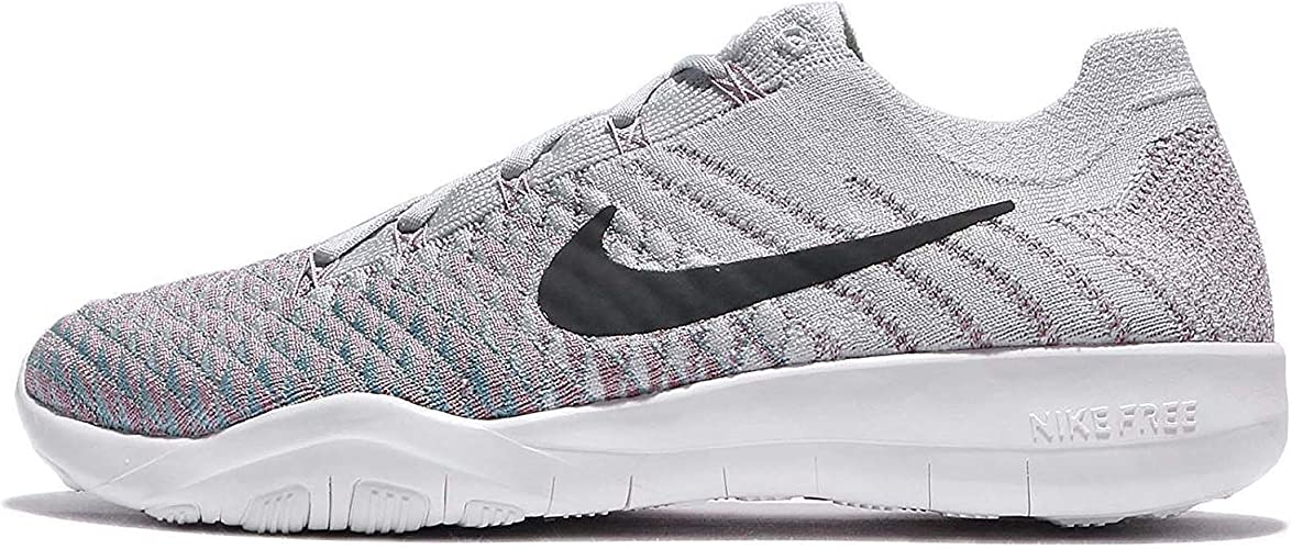 NIKE Libre TR Flyknit 2 femmes FonctionneHommest chaussures (6 B(M) US, Pure Platinum Anthracite)