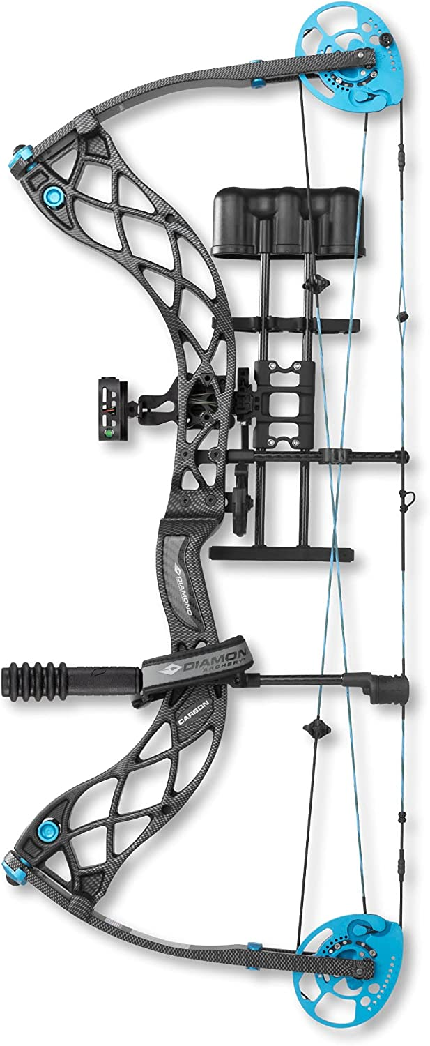 Diamond Archery Carbon Great interest Knockout Compound Bow High material 40 Right - lbs Han