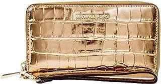 Michael Kors Ladies Large Leather Wristlet 32F7MFDE4K710