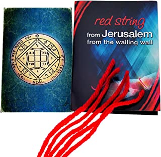 5 Kabbalah Red String Bracelets blessed in Jerusalem with King Solomon Love Seal Seal Amulet