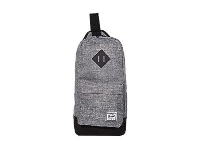 Herschel Supply Co. Heritage Shoulder Bag (Raven Crosshatch/Black) Handbags