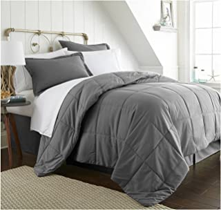 ienjoy Home Bed in a Bag, California King, Gray