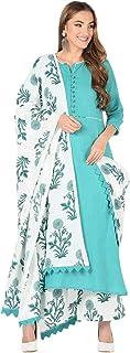 Meera Fab Women's Cotton Salwar Suit