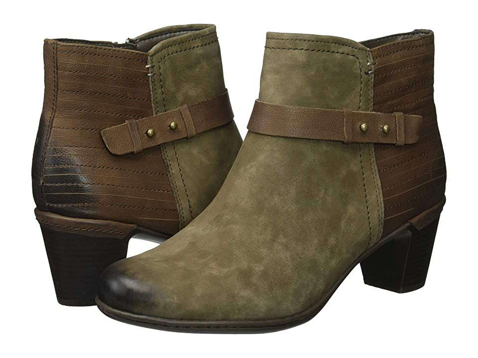 Rockport Cobb Hill Collection Cobb Hill Rashel Buckle Boot (Stone Nubuck) Women