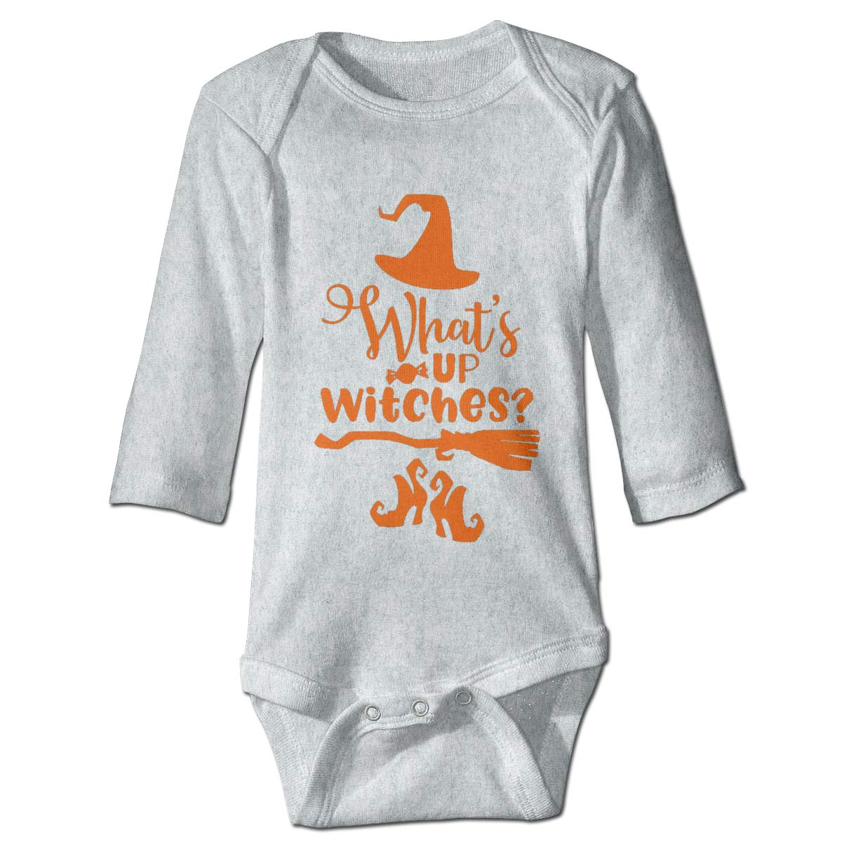 Marsherun Babys Boys Girls Halloween Long-Sleeve Bodysuit Playsuit