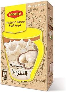 Maggi Instant White Mushroom Soup, 12 gm  - Pack of 4