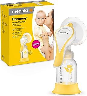 Medela Harmony handbröstpump – kompakt schweizisk design med PersonalFit Flex bröstskydd och Medela 2-fas expressionsteknik