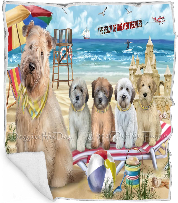 Pet Friendly Beach Wire Ranking TOP3 Fox Terrier Fl Dogs Industry No. 1 Multicolor - Blanket