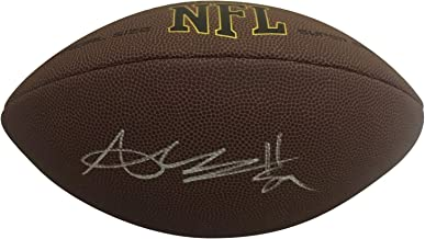 Antonio Brown Raiders Steelers Patriots Autographed NFL Signed Football PSA DNA COA