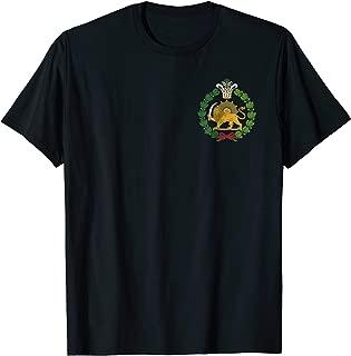 Shir o Khorshid Persian Lion and Sun Emblem Iran T-Shirt