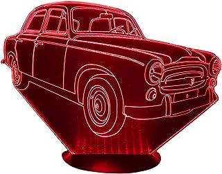 PEUGEOT 403, lampada da salotto 3D