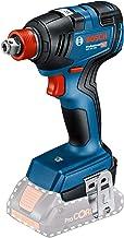 """Chave de Impacto a Bateria de ¼ e ½"""" Bosch GDX 18V-200, 200Nm, 18V, sem Bateria e sem Carregador em Maleta"""
