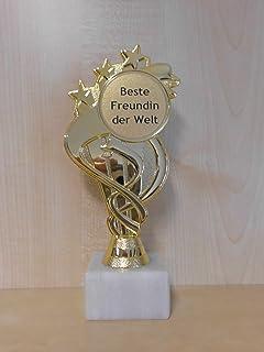 Für den besten Onkel ca Geschenk Pokal 22,5 cm Fun Award