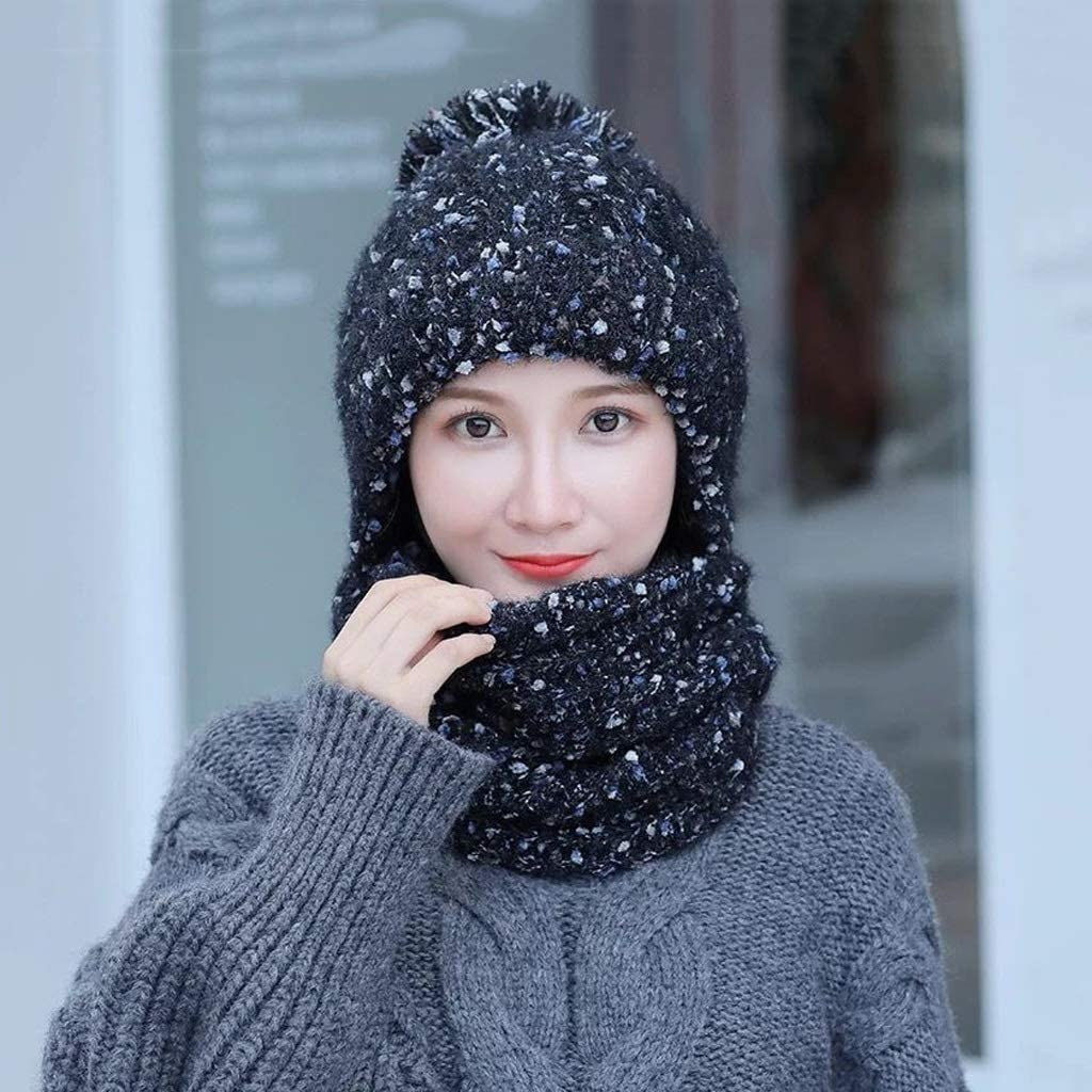 JJSPP Winter Accessories for Warm Women Thick Beani shopping Dallas Mall