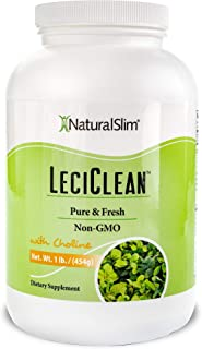 Sponsored Ad - NaturalSlim LeciClean - Soy Lecithin Granules with Choline - 100% Pure Lecithin Powder Food Grade - Metabol...